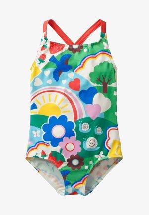 MIT ÜBERKREUZTEN TRÄGERN - Swimsuit - multi-colored