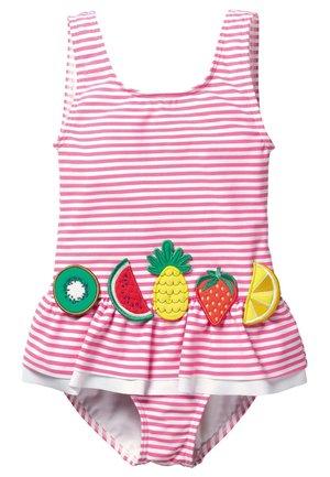 Swimsuit - pink/naturweiß, früchte