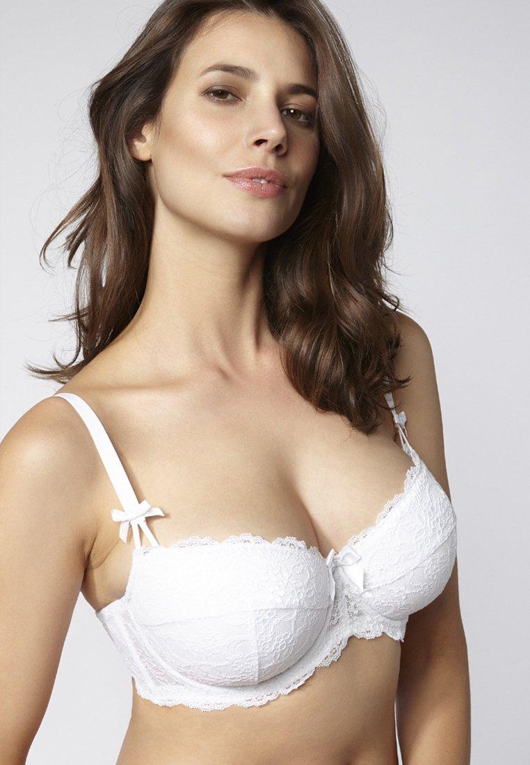 Boux Avenue - Balconette bra - white