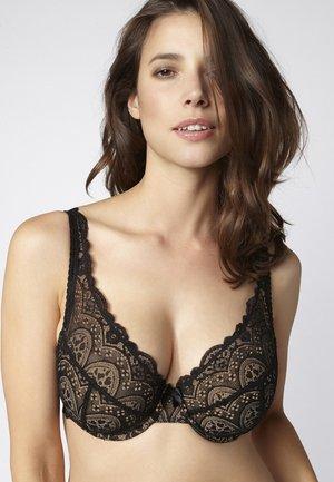 TORI - Kaarituelliset rintaliivit - black
