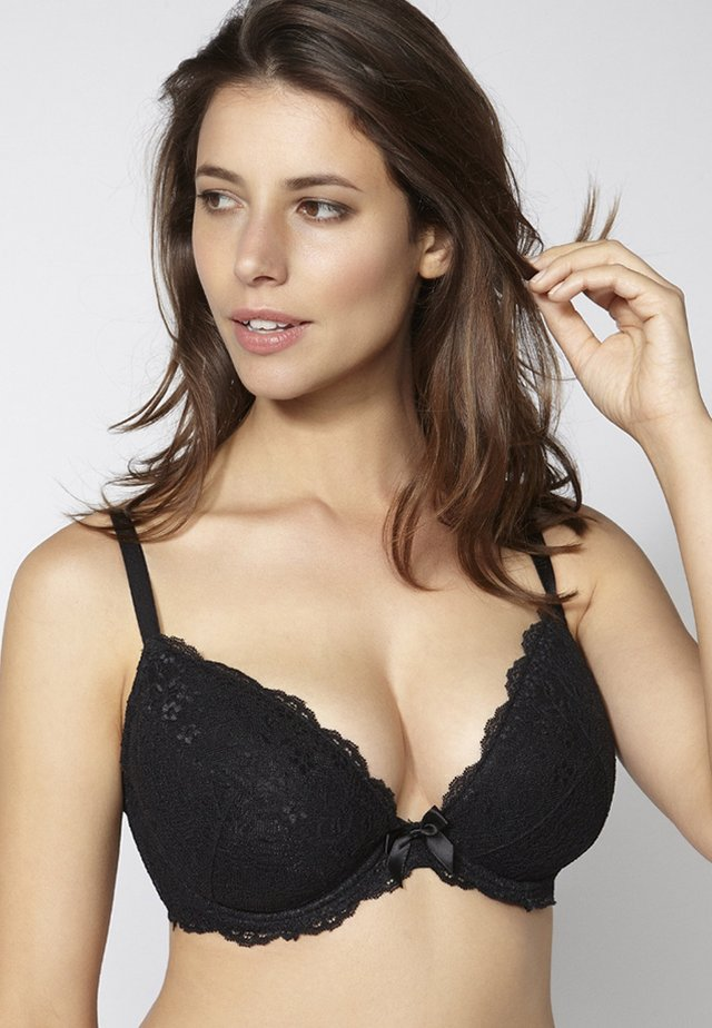 CHLOE LACE PLUNGE  - Underwired bra - black