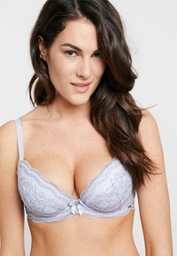 Boux Avenue - PLUNGE BRA - Sujetador push-up - blue/grey - 0