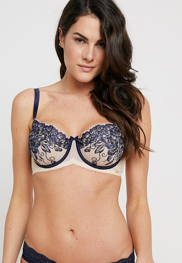 CILLA BALCONETTE - Beugel BH - navy mix