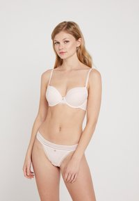 Boux Avenue - JENNA FLORAL PLUNGE BRA - Sujetador push-up - blush - 1
