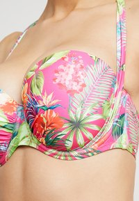 Boux Avenue - ST LUCIA BRIGHT FLORAL SLING - Bikinitop - pink mix - 4