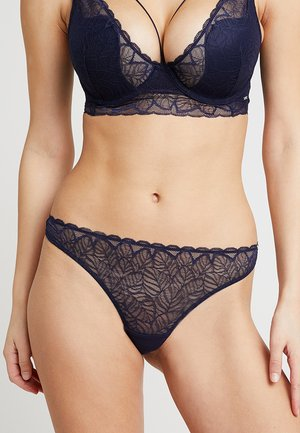 MARCELLA THONG - Stringit - navy