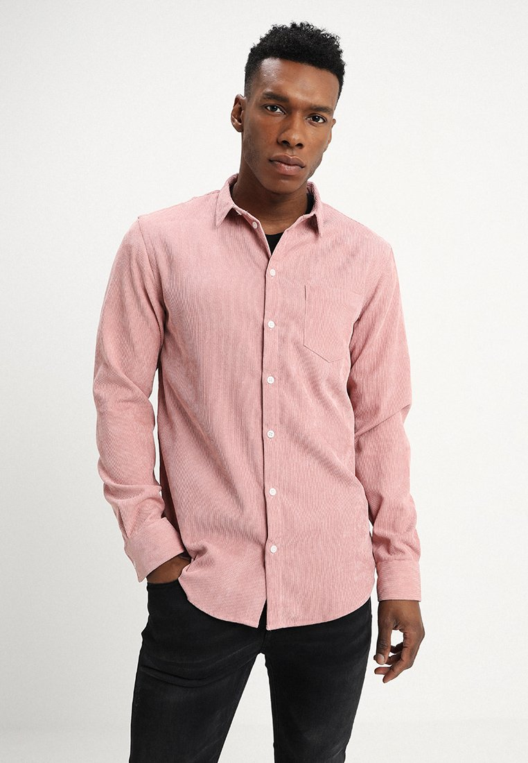 boohoo MAN - SINGLE POCKET - Camisa - pink