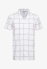 boohoo MAN - REVERE COLLAR SHIRT - Overhemd - white - 3