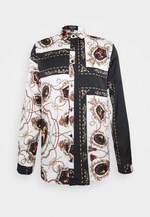 LONG SLEEVE BAROQUE  - Camicia - black