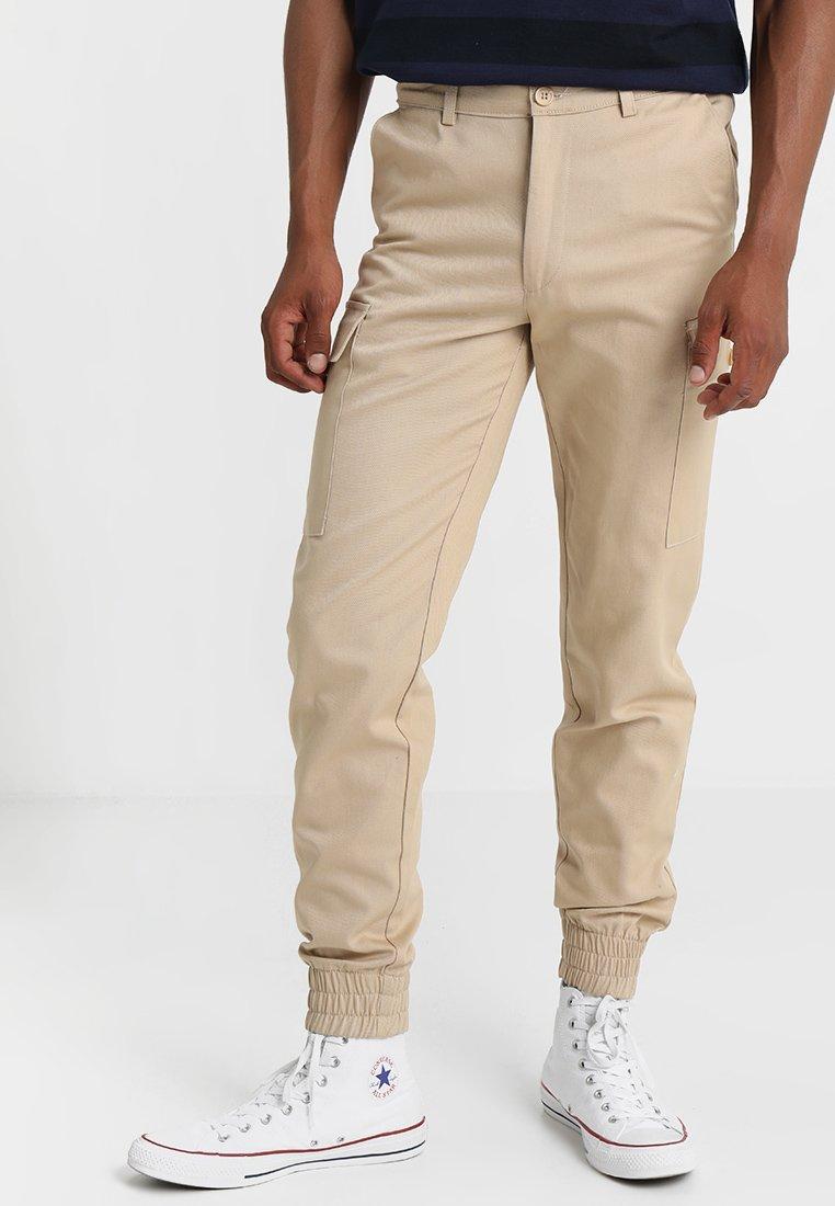 Boohoo Ankle Stone Man Cargo Trousers With CuffsPantalon b7gyf6vY
