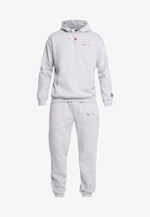 MAN LOOSE FIT PRINTED TRACKSUIT - Survêtement - grey