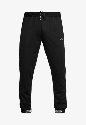 MAN AIRTEX  WITH RUBBER TAB - Jogginghose - black