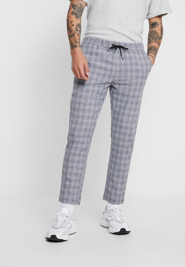 CHECK SMART JOGGERS - Jogginghose - grey