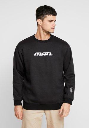SEASON LOOSE FIT TRACKSUIT - Sweatshirt - black