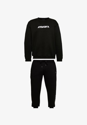 SEASON LOOSE FIT TRACKSUIT - Tracksuit - black