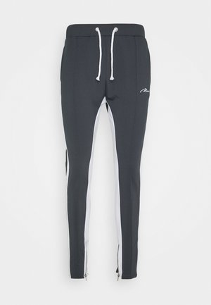 TRICOT SKINNY WITH SIDE PANEL - Trainingsbroek - grey