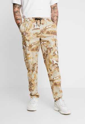 TROUSER - Cargo trousers - brown