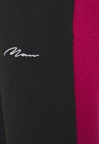 boohoo MAN - SIGNATURE COLOUR BLOCK HOODED TRACKSUIT SET - Tuta - pink - 5
