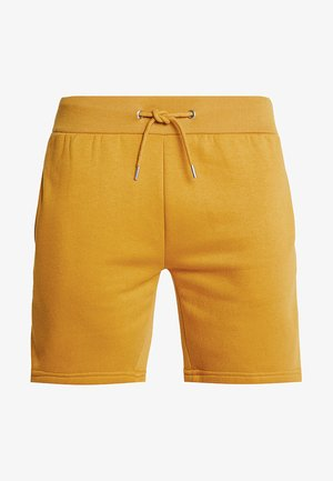 MID LENGTH WITH CONTRAST TAPE - Shorts - mustard