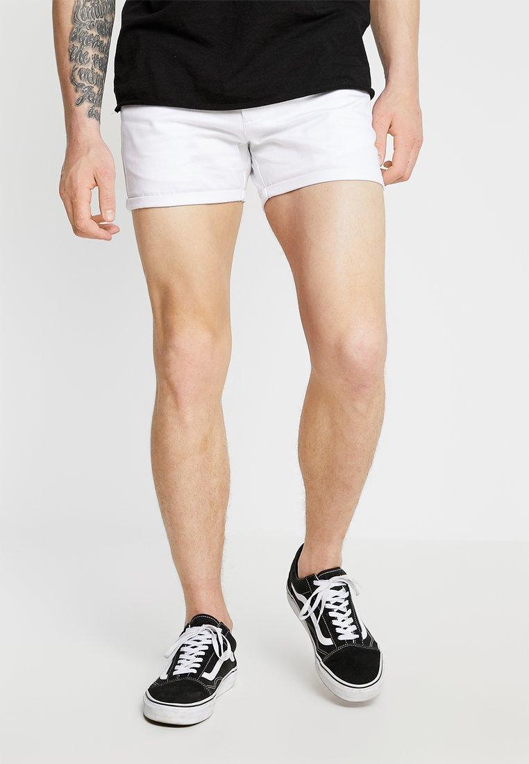 boohoo MAN - Shorts - white