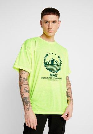 TAB - Print T-shirt - green