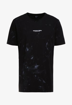 OFFICIAL ACID WASH OVERSIZED - Printtipaita - black