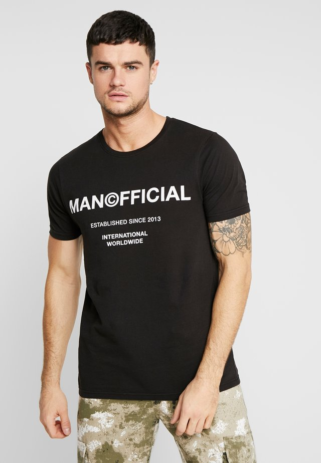 OFFICIAL - T-shirt print - black