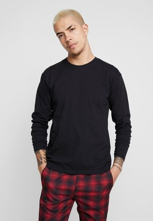 HORIZONS BACK PRINT LONG SLEEVE - Longsleeve - black