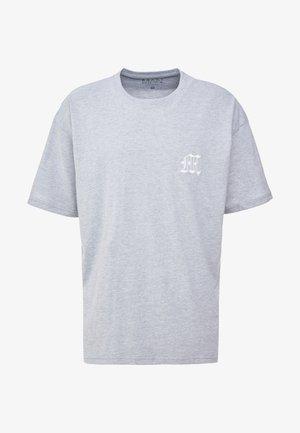 AESTHETICS OVERSIZED DROP SHOULDER - T-shirt basic - grey