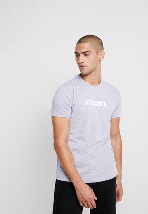 MAN SEASON  - T-shirt print - grey