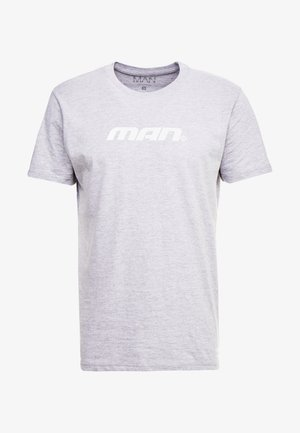 MAN SEASON  - Triko spotiskem - grey
