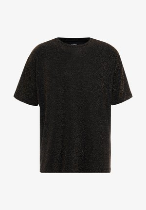 SHORT SLEEVE SPARKLE TEE - T-shirts print - black