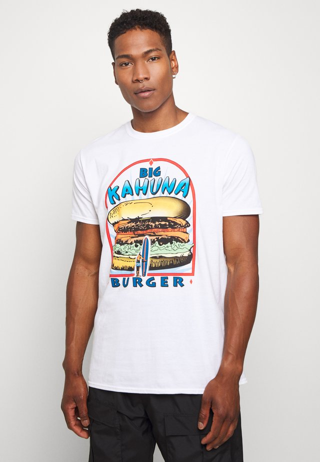 BIG KAHUNA PULP FICTION  - T-shirt z nadrukiem - white