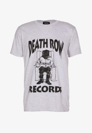 DEATHROW LICENSE - T-shirt imprimé - grey