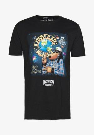 SNOOP DOGG DEATH ROW LICENSE - T-shirt print - black