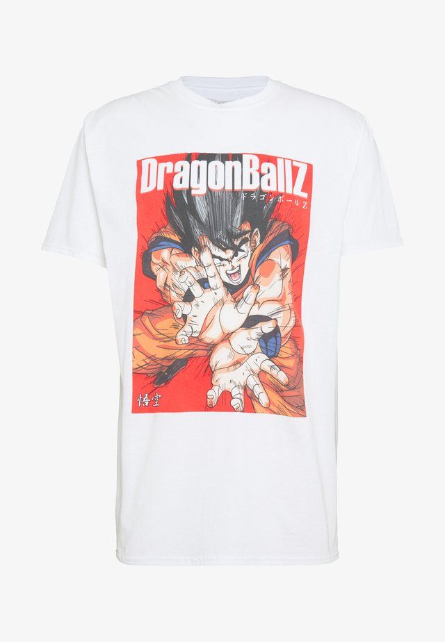 OVERSIZED DRAGONBALL  - T-shirt con stampa - white