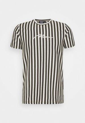 SIGNATURE STRIPE  - Print T-shirt - khaki