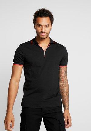 WITH BAROQUE BACK - Polo shirt - black