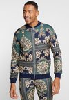 boohoo MAN - BAROQUE BOMBER ZIP TRACK TOP - Verryttelytakki - multi-coloured