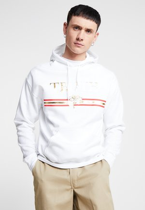 TRUTH FOIL HOODIE - Mikina s kapucí - white