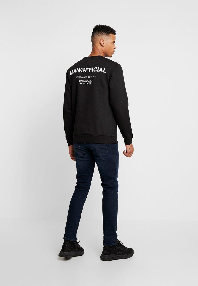 boohoo MAN - MAN OFFICIAL  - Sweater - black