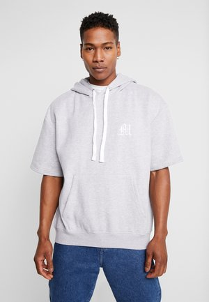 MAN AESTHETICS OVERSIZED HEAVYWEIGHT HOODIE - Hoodie - grey