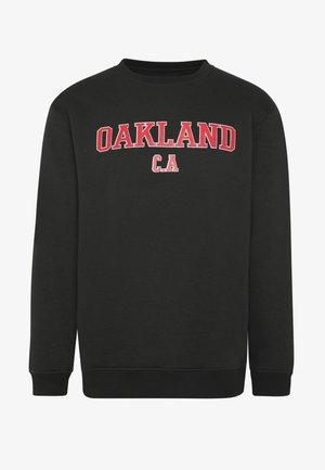 OAKLAND - Collegepaita - black