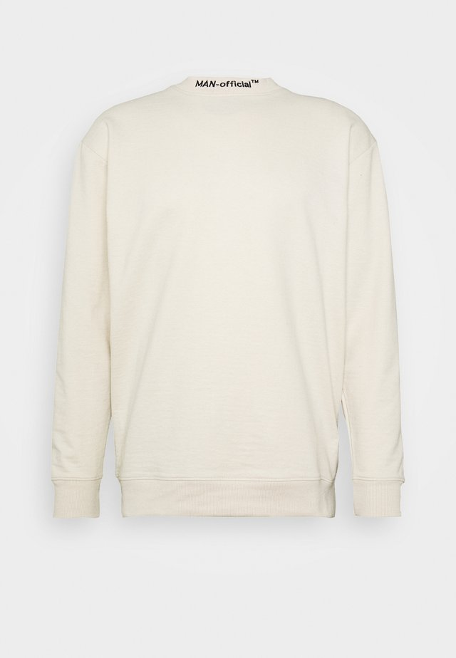 LOOSE FIT  OFFICIAL EXTENDED NECK  - Mikina - off-white