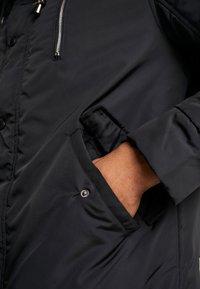 boohoo MAN - Abrigo de invierno - black - 6