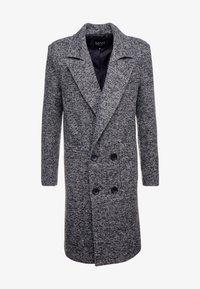 boohoo MAN - TEXTURED SMART OVERCOAT - Manteau classique - grey - 4