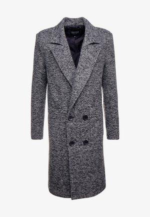 TEXTURED SMART OVERCOAT - Zimní kabát - grey