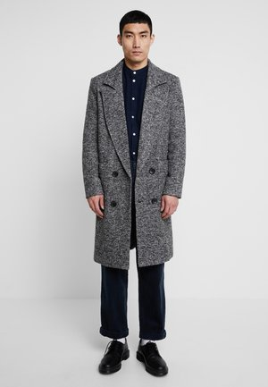 TEXTURED SMART OVERCOAT - Abrigo - grey