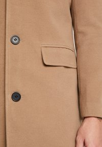 boohoo MAN - SINGLE BREASTED OVERCOAT - Mantel - camel - 5