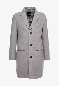 boohoo MAN - SINGLE BREASTED OVERCOAT - Kåpe / frakk - grey - 3